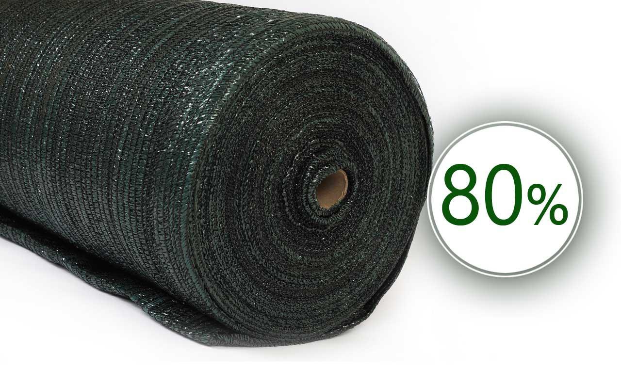 Сетка затеняющая 80% 6 м