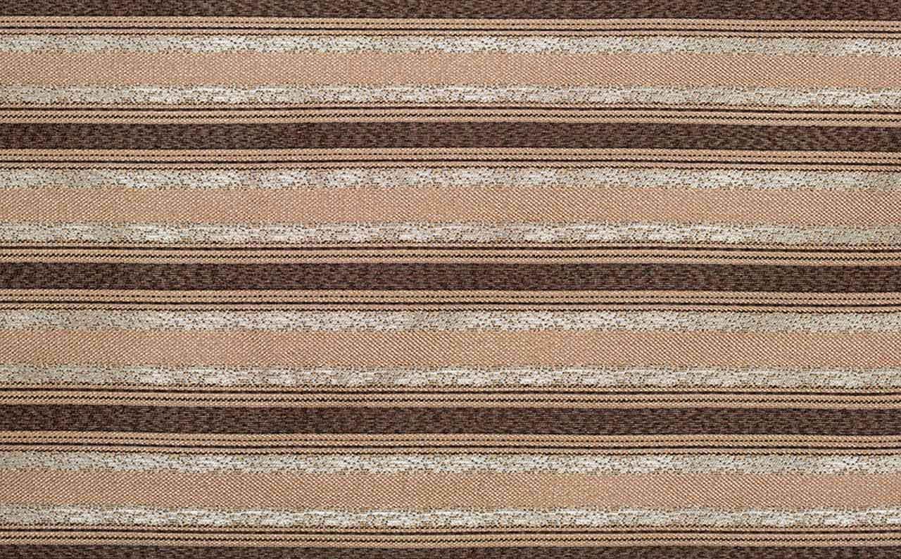 Рогожка Ajur Stripe Brown
