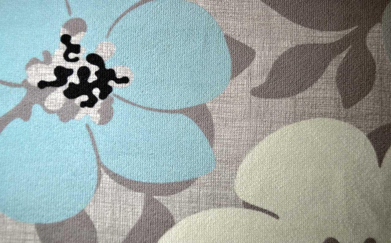 Мебельная ткань велюр Camomile glass