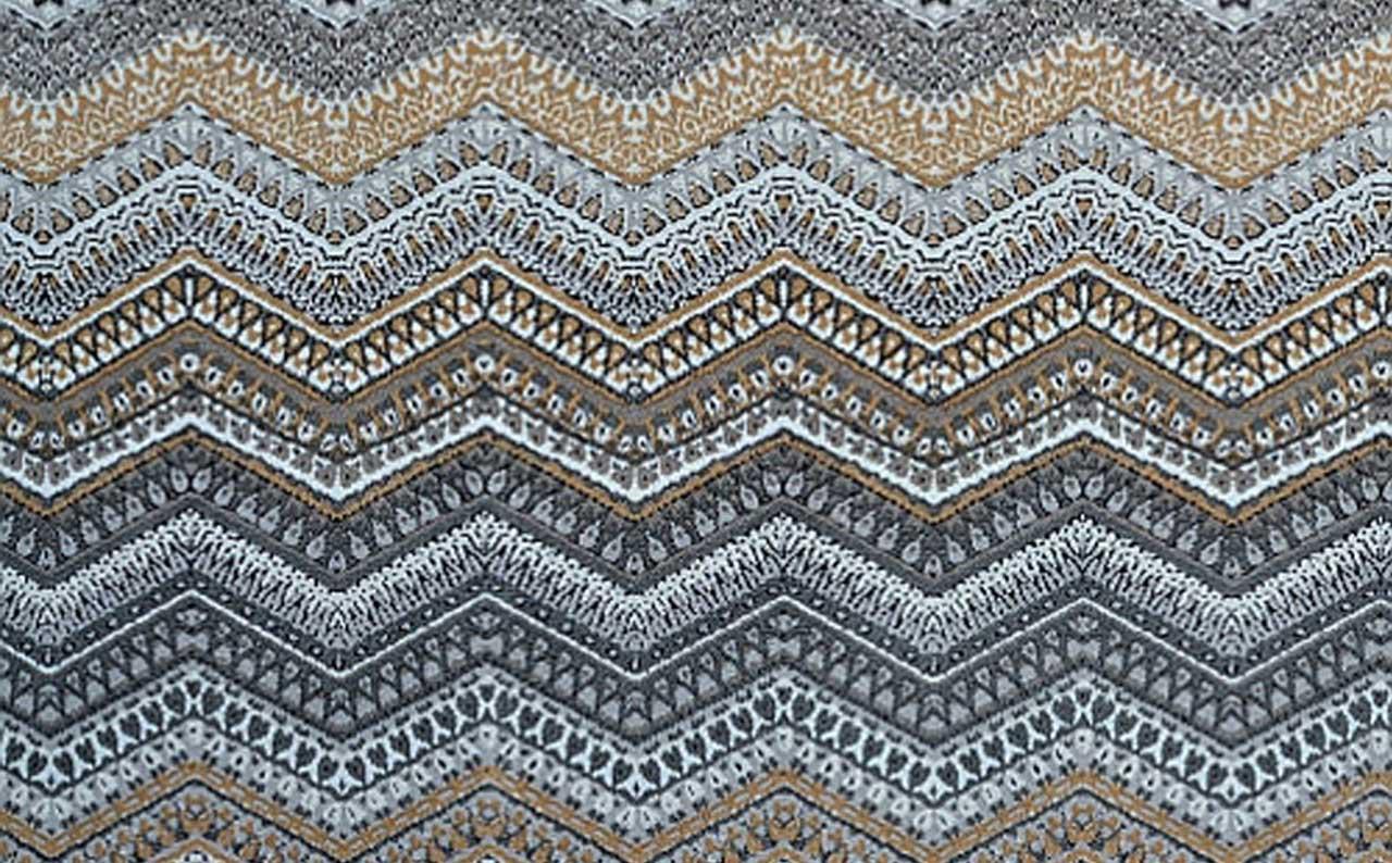 Мебельная ткань микрофибра Country geometric G925
