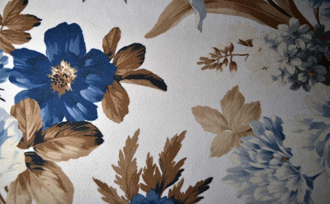 Велюр Lilium beige-blue
