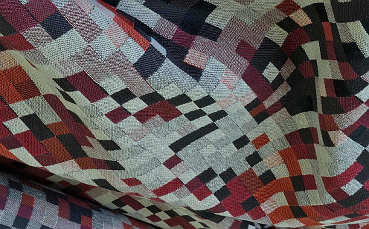 Мебельная ткань Pixel 02