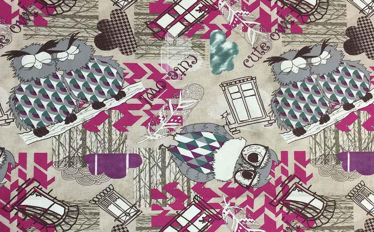 Обивочная ткань микрофибра Print 10