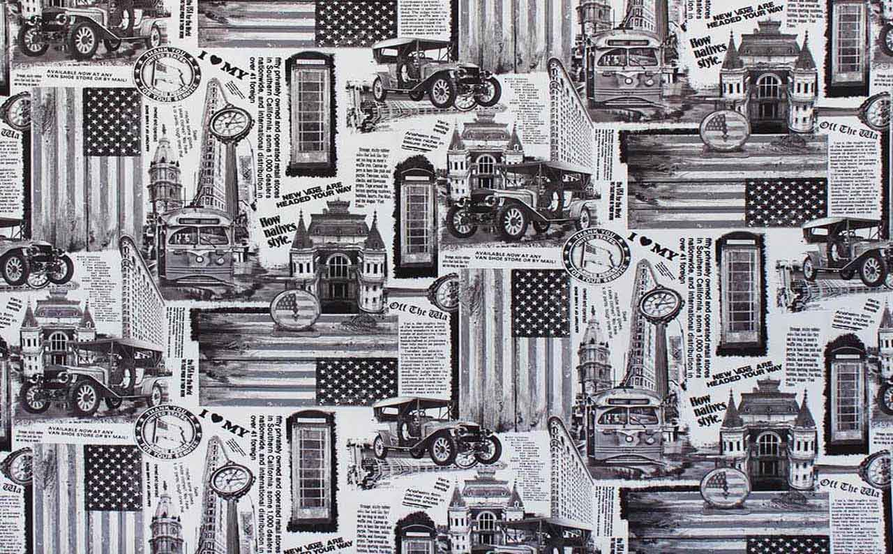 Обивочная ткань микрофибра Print 05