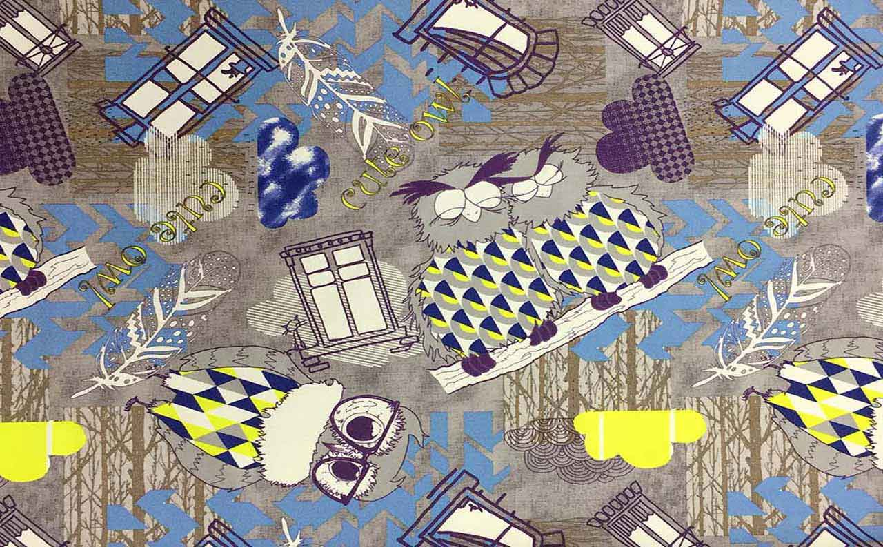 Обивочная ткань микрофибра Print 09