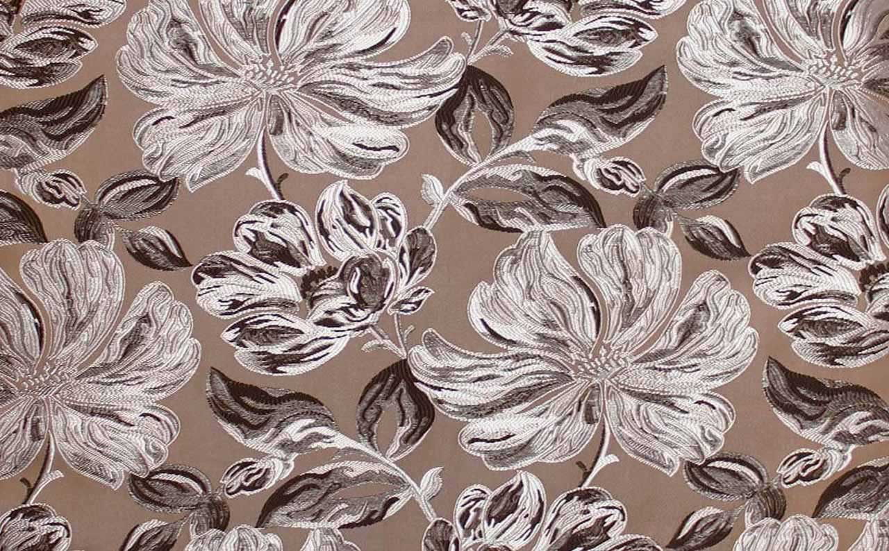 Мебельная ткань жаккард Silvia brown 15