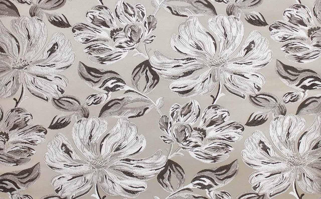 Мебельная ткань жаккард Silvia grey 06