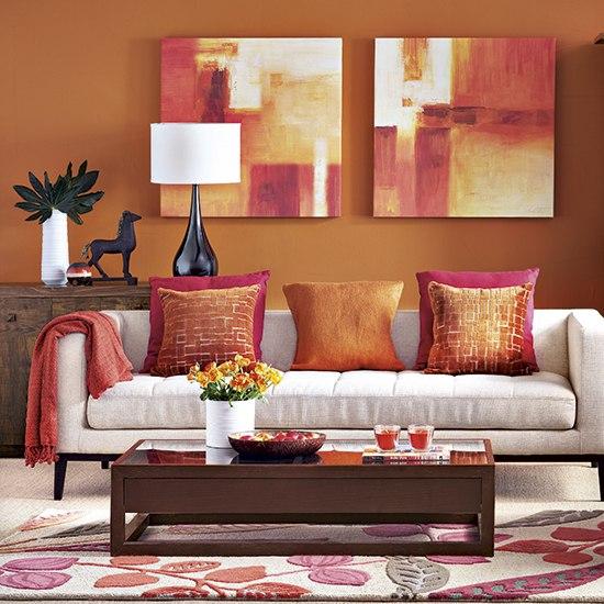 Ткань мебельная на диване с подушками дизайн
