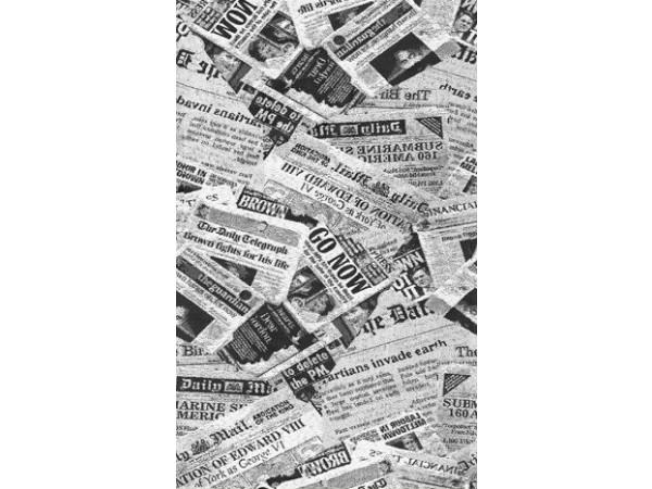 ткань мебельная с рисунком газета