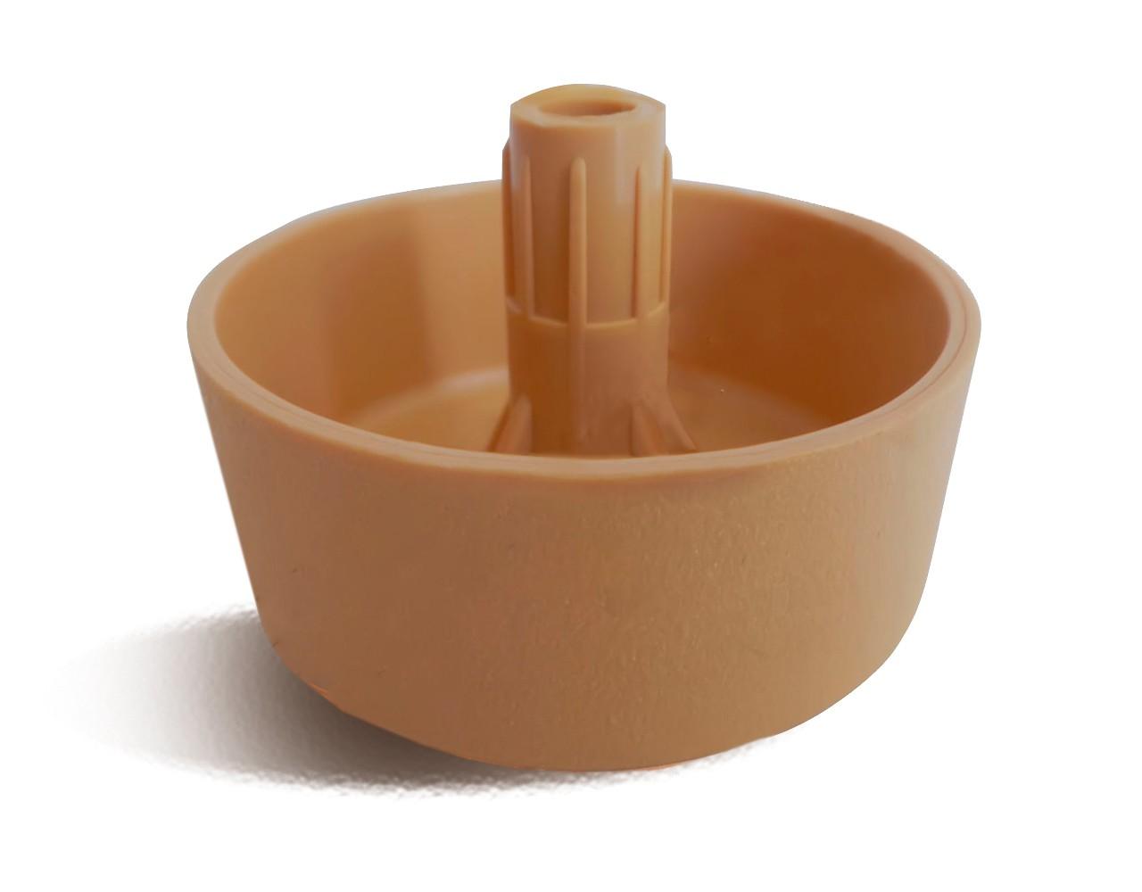 Опора для мебели пластиковая бук