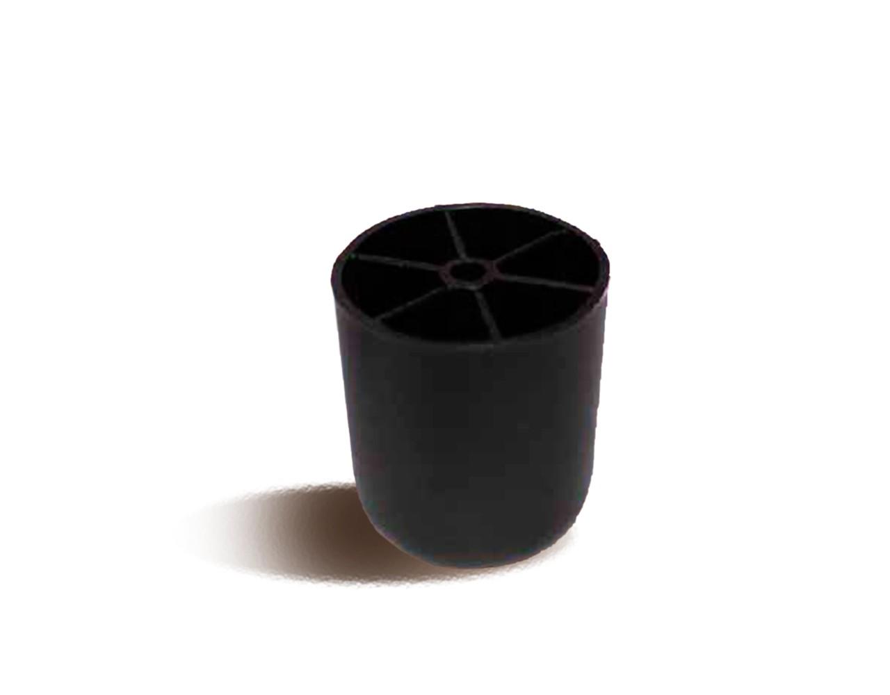 Мебельная опора пластикова круглая Ф.311.028