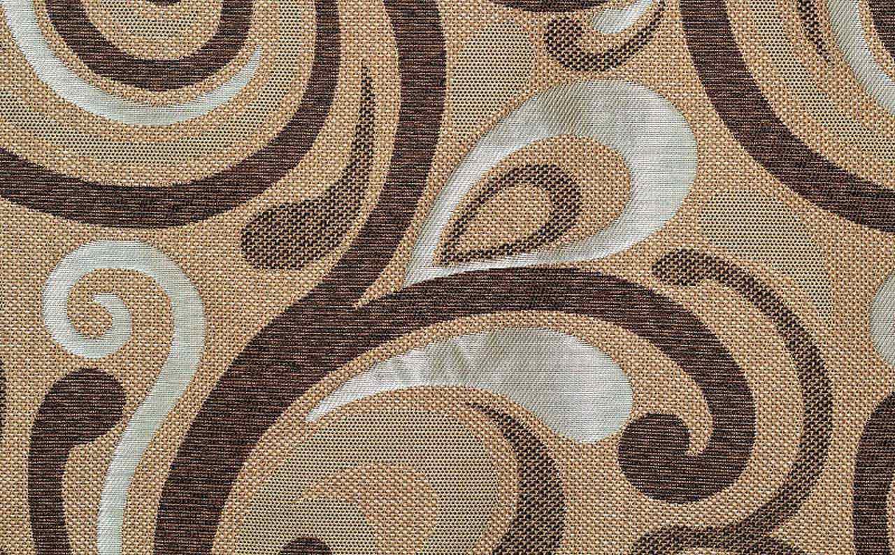 Мебельная ткань рогожка Ajur Brown