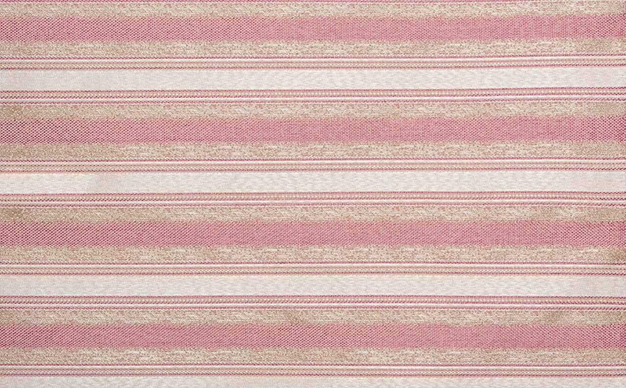 Рогожка Ajur Stripe Pink