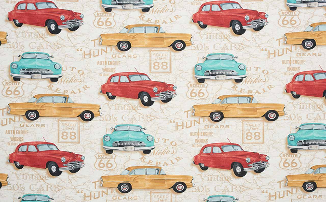 Print Young Cars