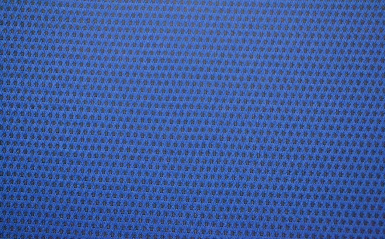 Автомобильная ткань велюр Пол синий