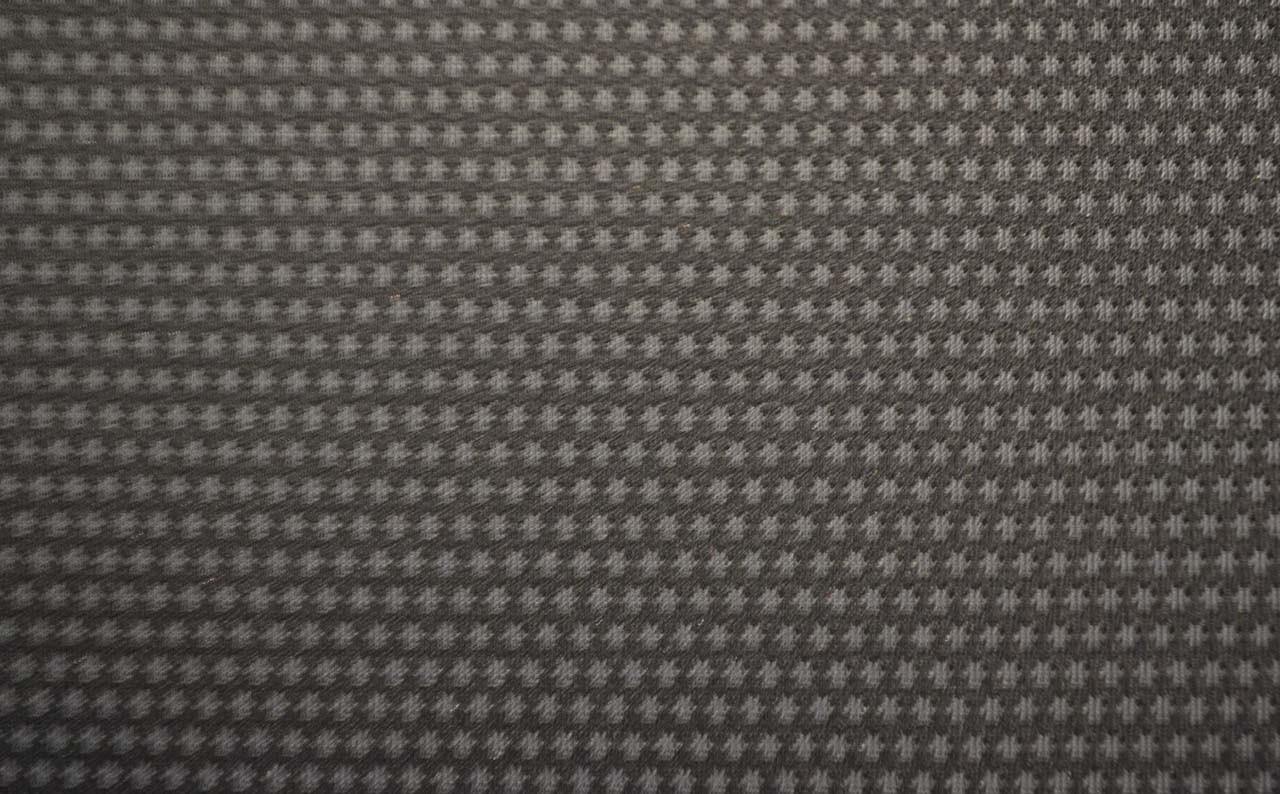 Автомобильная ткань велюр Пол Черный