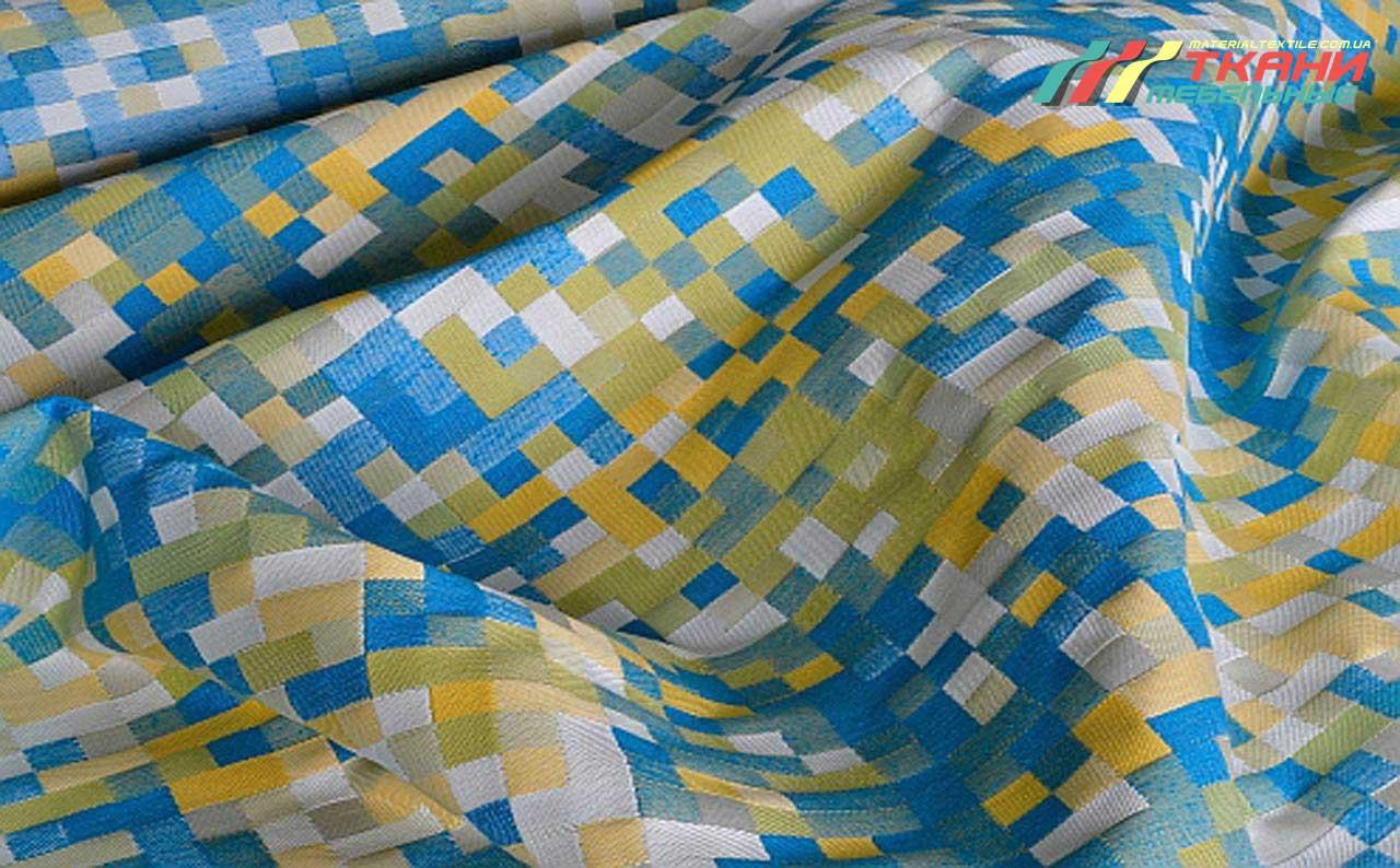 Мебельная ткань Pixel