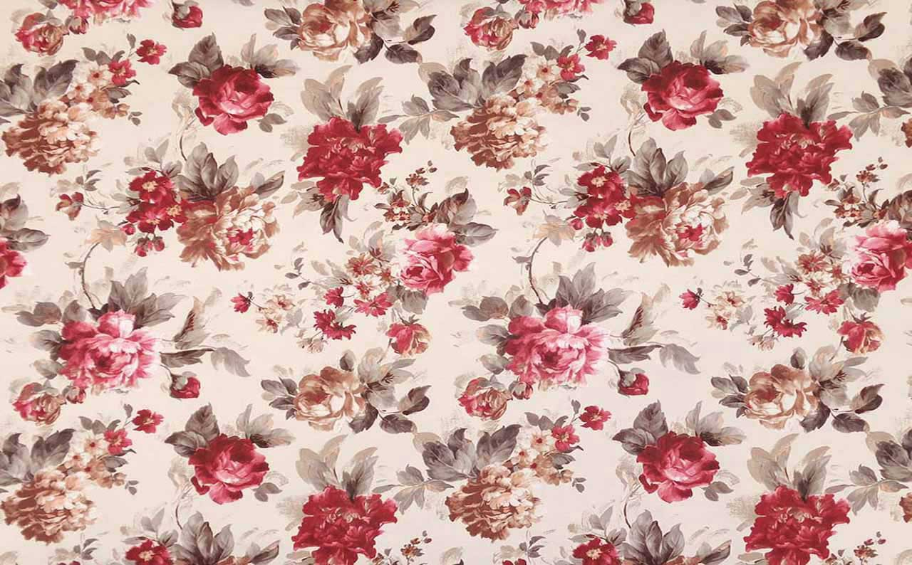 Мебельная ткань Микрофибра Print Flora 2