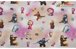 Children Masha and Bear