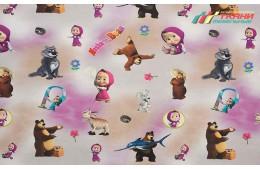 Children Masha and Bear