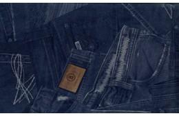 Print jeans